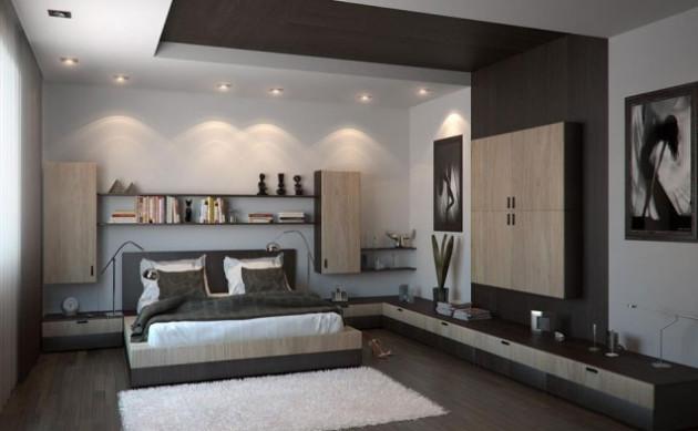 Дизайн-проект спальни 2017