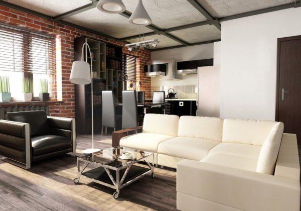 Современная квартира в стиле минимализм 2017