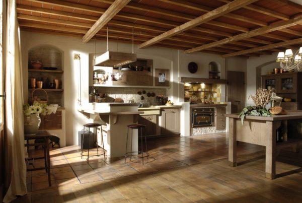 Итальянский стиль в дизайне кухни 2017