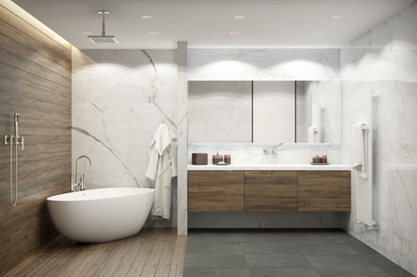 Отделка и интерьер современной ванной