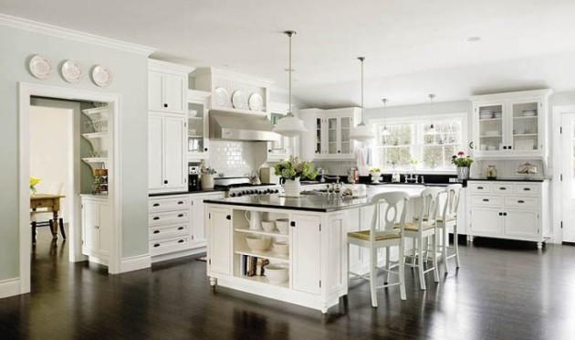 Большая кухня в квартире