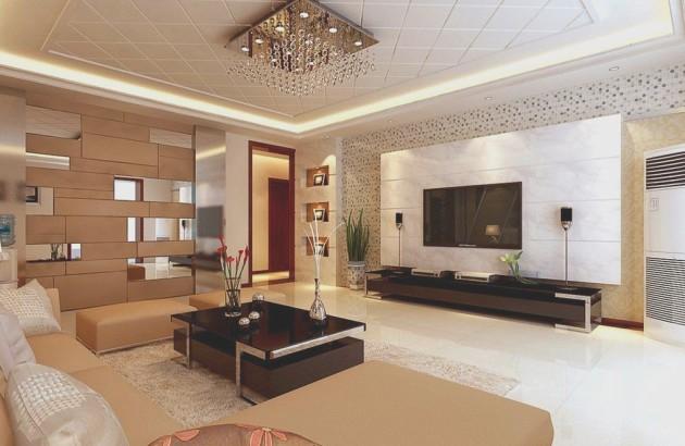 Дизайн современной гостиной 2017