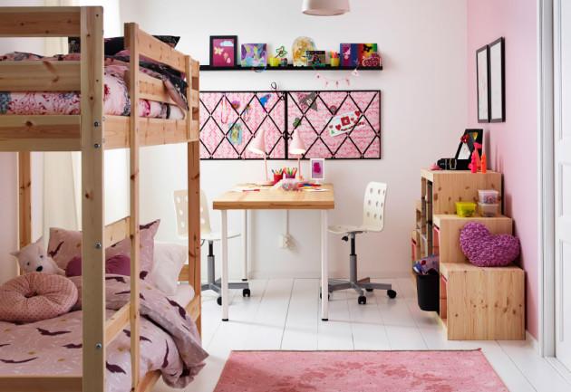 Идея оформления комнаты для двоих детей