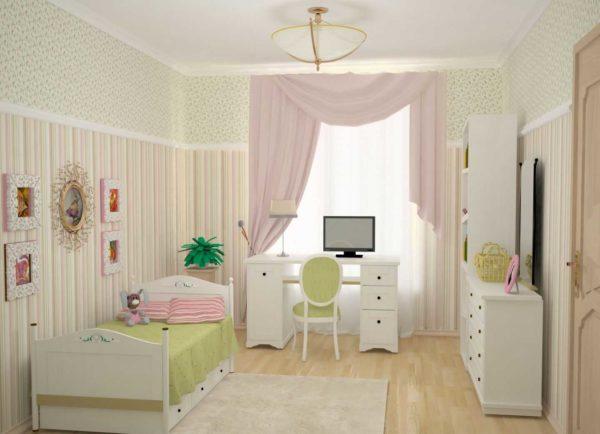 Дизайн комнаты 2017 для девочки