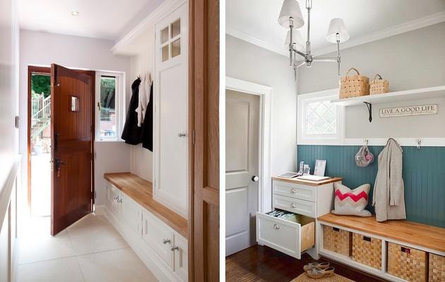 Дизайн-проект коридора в доме