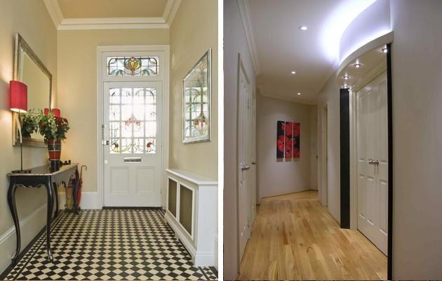 Дизайн коридоров в частном доме и квартире