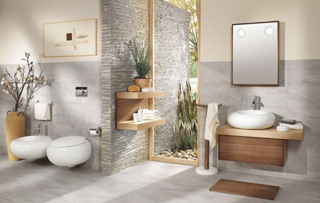 Эко-дизайн в ванной