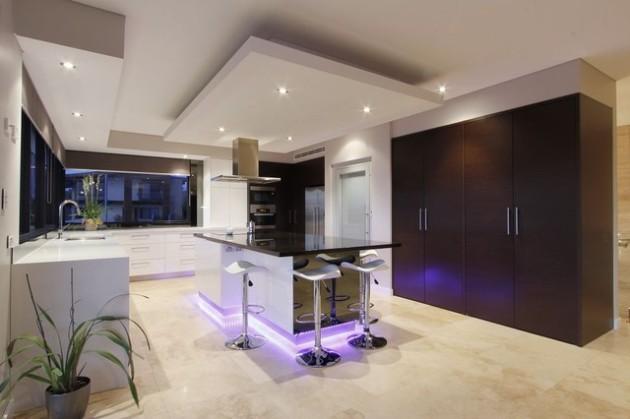 Потолок как элемент зонирования пространства