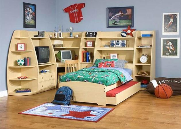 Дизайн комнаты для ребёнка с модульной мебелью
