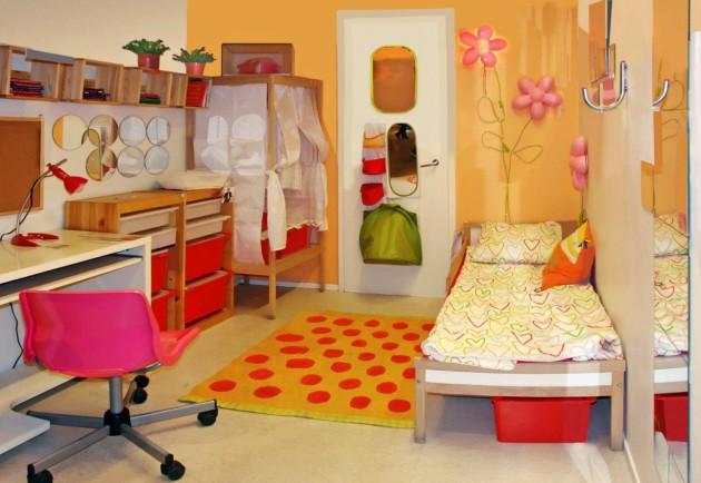 Цветовое решение для интерьера детской комнаты