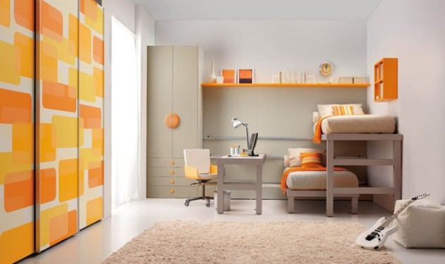 Минималистичный дизайн детской комнаты