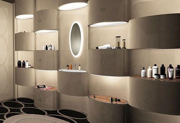 Использование подсветки в интерьере ванной