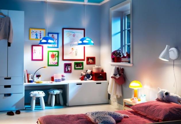 Дизайн-проект небольшой и уютной детской