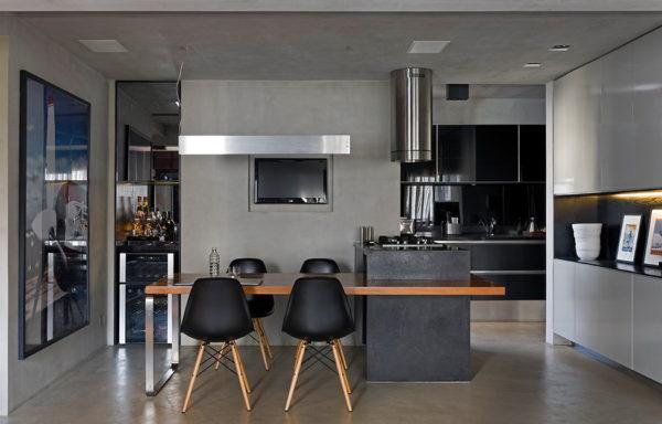 Кухня в стиле модерн 2017