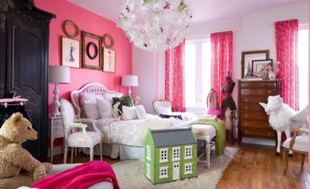 Дизайн небольшой детской комнаты для девочки