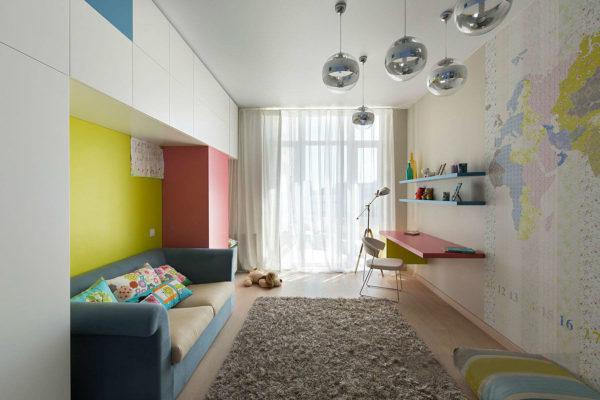 Дизайн детской комнаты в хрущёвке
