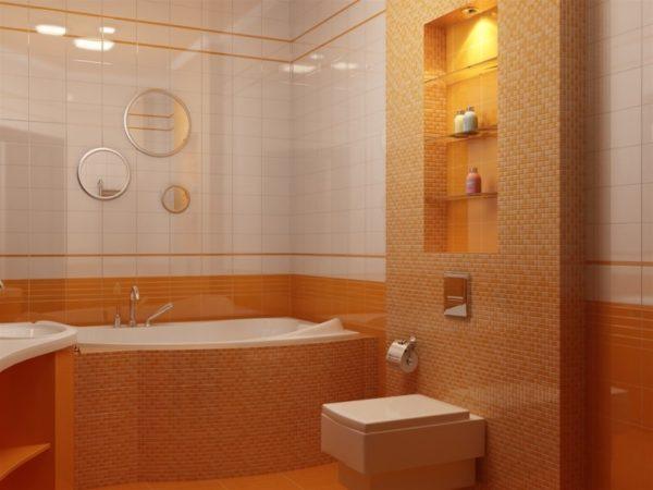 Ниши в интерьере ванной комнаты