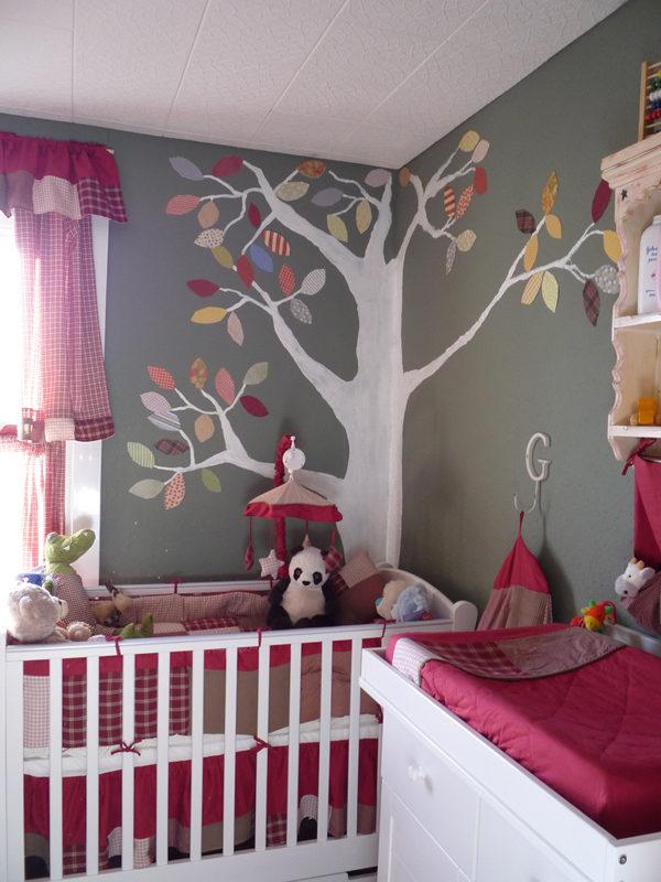Детская комната сяркими цветовыми акцентами