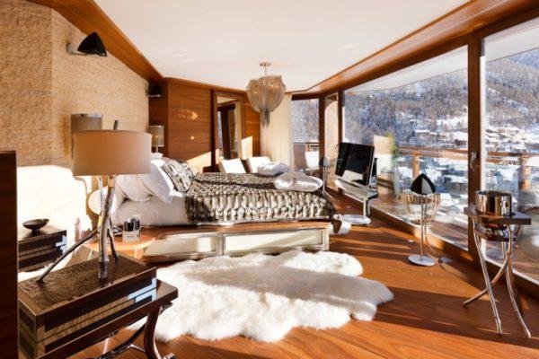 Квартира в стиле шале с панорамными окнами
