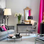 Серый и розовый — активное сочетание
