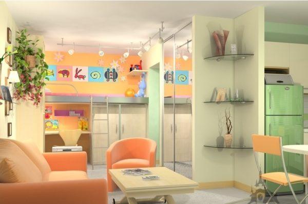Детская в квартире-студии