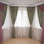 Элегантные шторы для окон гостиной