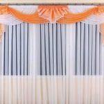 Лёгкие шторы для зала