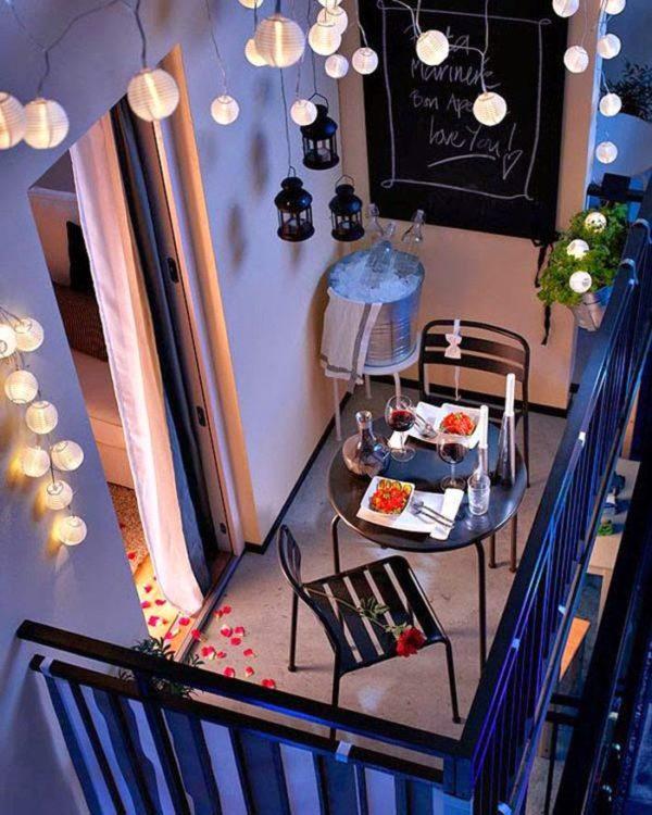 Стиль хай-тек в интерьере балкона