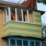 Вариант балкона в хрущёвке