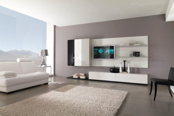 Асимметричная расстановка мебели