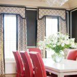 Яркие оттенки столовой