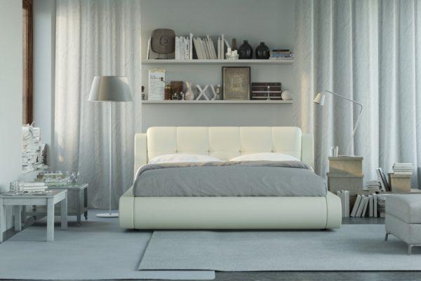 Кровать в форме квадрата