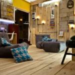 Комната для отдыха в стиле гранж
