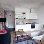Этнический минимализм в небольшой квартире