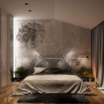 Использование фотообоев в оформлении спальни