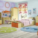 Круглые ковры в детской