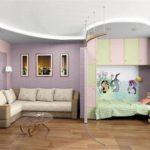 Квартира для семьи с одним ребенком