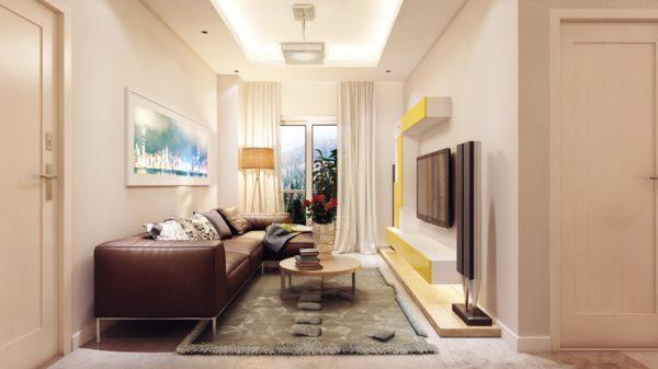 Оформление узкой квартиры