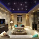 Фантастическое освещение гостиной