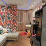 Планировка однокомнатной квартиры для семьи с ребёнком