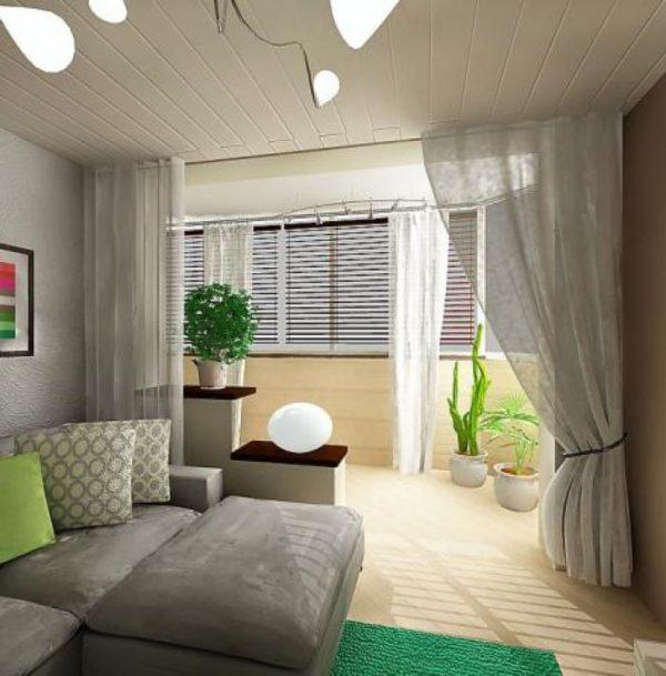 Шторы для спальни в серых тонах