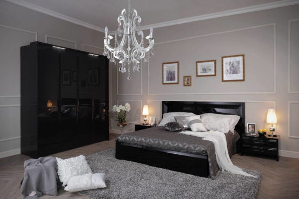 Мебель для спальни с простыми линиями